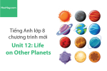 Tiếng Anh lớp 8 – Unit 12: Life on Other Planets – Học Hay