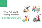 Tiếng Anh lớp 10 – Unit 1: Family Life – Học Hay