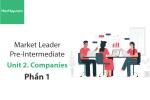 Sách Market Leader Pre-intermediate – Unit 2: Companies – Tiếng anh thương mại – Học Hay (Phần 1)