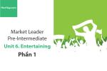 Sách Market Leader Pre-intermediate – Unit 6: Entertaining – Tiếng anh thương mại – Học Hay (Phần 1)