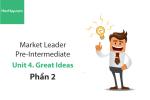 Sách Market Leader Pre-intermediate – Unit 4: Great Ideas – Tiếng anh thương mại – Học Hay (Phần 2)