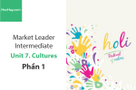 Sách Market Leader Intermediate – Unit 7: Cultures – Học Hay (Phần 1)