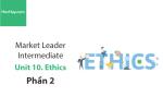 Sách Market Leader Intermediate – Unit 10: Ethics – Tiếng anh thương mại – Học Hay (Phần 2)
