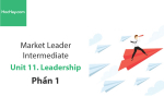 Sách Market Leader Intermediate – Unit 11: Leadership – Học Hay (Phần 1)