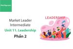 Sách Market Leader Intermediate – Unit 11: Leadership – Học Hay (Phần 2)