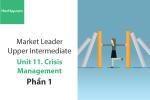 Sách Market Leader Upper Intermediate – Unit 11: Crisis Management – Học Hay (Phần 1)