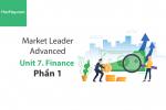 Sách Market Leader Advanced – Unit 7: Finance – Tiếng anh thương mại – Học Hay (Phần 1)
