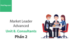 Sách Market Leader Advanced – Unit 8: Consultants – Học Hay (Phần 2)