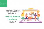 Sách Market Leader Advanced – Unit 10: Online Business – Học Hay (Phần 1)