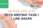 Hướng dẫn viết IELTS Writing Task 1 - Line Graph (Biểu đồ đường) - Học Hay