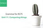Sách Ngữ pháp tiếng anh luyện thi IELTS – Unit 11: So sánh (Comparing things) – Học Hay