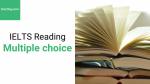 Chiến thuật làm bài IELTS Reading - Multiple choice - Hochay