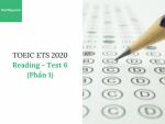 Sách Luyện thi ETS TOEIC 2020 – Test 6: Reading (Phần 1) – Học Hay