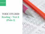 Sách Luyện thi ETS TOEIC 2020 – Test 6: Reading (Phần 2) – Học Hay
