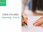 Sách Luyện thi ETS TOEIC 2020 - Test 9: Listening - Học Hay