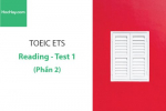 Sách Luyện thi ETS TOEIC – Test 1: Reading (Phần 2) – Học Hay