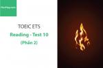 Sách Luyện thi ETS TOEIC – Test 10: Reading (Phần 2) – Học Hay