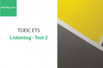 Sách Luyện thi ETS TOEIC – Test 2: Listening – Học Hay