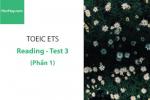 Sách Luyện thi ETS TOEIC – Test 3: Reading (Phần 1) – Học Hay