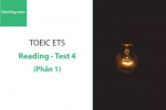 Sách Luyện thi ETS TOEIC – Test 4: Reading (Phần 1) – Học Hay
