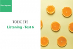 Sách Luyện thi ETS TOEIC – Test 6: Listening – Học Hay