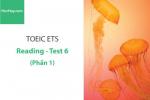 Sách Luyện thi ETS TOEIC – Test 6: Reading (Phần 1) – Học Hay