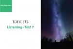 Sách Luyện thi ETS TOEIC – Test 7: Listening – Học Hay