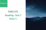 Sách Luyện thi ETS TOEIC – Test 7: Reading (Phần 1) – Học Hay