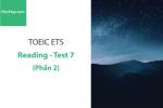 Sách Luyện thi ETS TOEIC – Test 7: Reading (Phần 2) – Học Hay