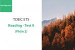 Sách Luyện thi ETS TOEIC – Test 9: Reading (Phần 2) – Học Hay