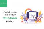 Sách Market Leader Intermediate –  Unit 1: Brands – Học Hay (Phần 2)