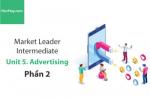 Sách Market Leader Intermediate – Unit 5: Advertising – Tiếng anh thương mại – Học Hay (Phần 2)