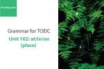 Sách Ngữ pháp tiếng anh luyện thi TOEIC – Unit 102: at/in/on (địa điểm) – Học Hay