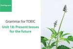 Sách Ngữ pháp tiếng anh luyện thi TOEIC – Unit 18: Thì hiện tại với ý nghĩa tương lai – Học Hay