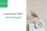 Sách Ngữ pháp tiếng anh luyện thi TOEIC – Unit 34: Would – Học Hay