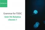 Sách Ngữ pháp tiếng anh luyện thi TOEIC – Unit 78: Mệnh đề quan hệ – Học Hay