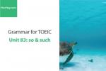 Sách Ngữ pháp tiếng anh luyện thi TOEIC – Unit 83: so & such – Học Hay