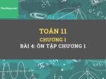 Toán 11 - Chương 1 -  Bài 4: Ôn tập Hàm số lượng giác và phương trình lượng giác - HocHay
