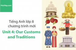 Tiếng Anh lớp 8 – Unit 4: Our Customs and Traditions – Học Hay