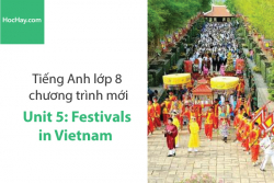 Tiếng Anh lớp 8 – Unit 5: Festivals in Vietnam – Học Hay
