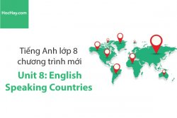 Tiếng Anh lớp 8 – Unit 8: English Speaking Countries – Học Hay