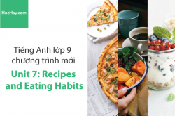 Tiếng Anh lớp 9 – Unit 7: Recipes and Eating Habits – Học Hay