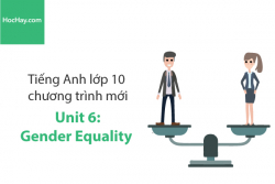 Tiếng Anh lớp 10 – Unit 6: Gender Equality – Học Hay