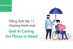 Tiếng Anh lớp 11 – Unit 4: Caring for Those in Need – Học Hay