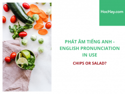 Phát âm tiếng Anh - English Pronunciation in Use Intermediate - Chips or Salad? - Học Hay