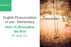 Sách Phát âm tiếng anh – Unit 14: Cách phát âm /f/ và /v/– Học Hay
