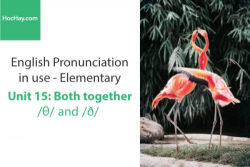 Sách Phát âm tiếng anh – Unit 15: Cách phát âm / θ / và / ð /– Học Hay