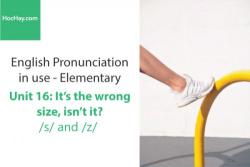 Sách Phát âm tiếng anh – Unit 16: Cách phát âm /s/ và /z/– Học Hay