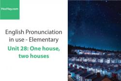 Sách Phát âm tiếng anh – Unit 28: Âm tiết – Học Hay