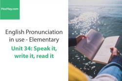 Sách Phát âm tiếng anh – Unit 34: Từ nối 1 – Học Hay